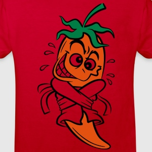 Chilli Pepper (3c)++ Barn-T-shirts - Ekologisk T-shirt barn