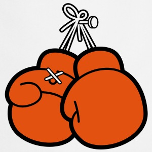 Boxing Gloves (2c)++ Delantales - Delantal de cocina