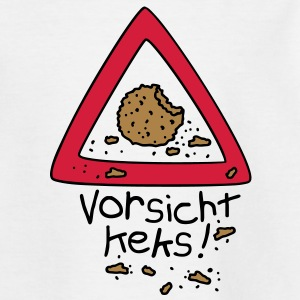 Vorsicht Keks Kinder T-Shirts - Teenager T-Shirt
