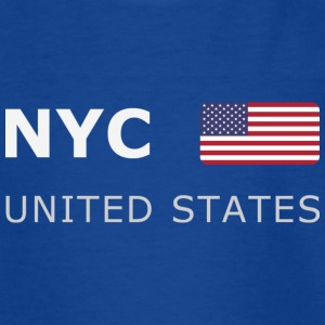 Teenager T-Shirt NYC UNITED STATES - T-shirt tonåring