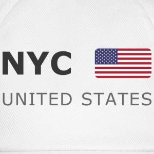 Base-Cap NYC UNITED STATES dark-lettered - Casquette classique