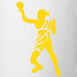 Table tennis tribal Mug - Tasse