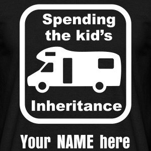 Motorhome - kid's inheritance T-Shirts - Men's T-Shirt