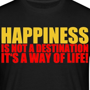 happiness T-Shirts - Männer T-Shirt