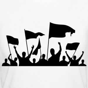 Protesters (1c)++ T-shirts - Organic damer