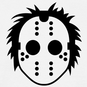 Jason Mask (1c)++ T-Shirts - Men's T-Shirt