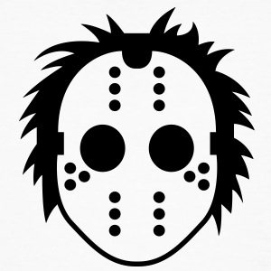 Jason Mask (1c)++ T-Shirts - Men's Organic T-shirt