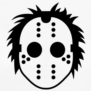 Jason Mask (1c)++ T-Shirts - Women's Organic T-shirt