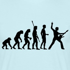 evolution_rocks_b_1c T-Shirts