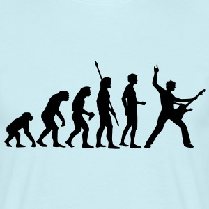 evolution_rocks_b_1c T-shirts - T-shirt herr