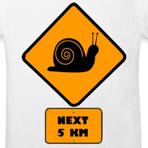 Escargot Tee shirts Enfants - Kids' Organic T-shirt