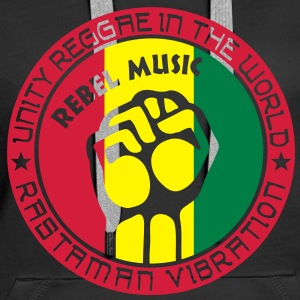 unity reggae in the world Hoodies & Sweatshirts - Women's Premium Hoodie