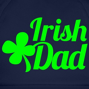 IRISH DAD with irish shamrock Caps & Hats - Baseball Cap
