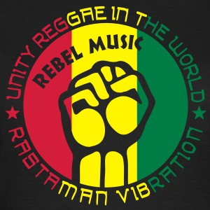 unity reggae in the world T-Shirts - Frauen T-Shirt