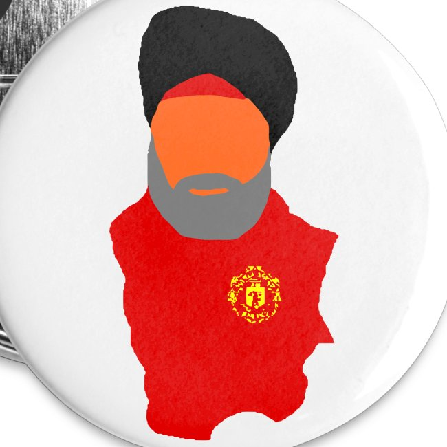 The Fat Sikh - Large Buttons