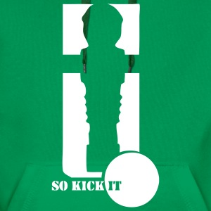 Kicker-Shirt So kick it - Männer Premium Hoodie