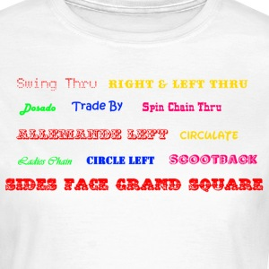 Square Dance Figuren T-Shirts - Frauen T-Shirt