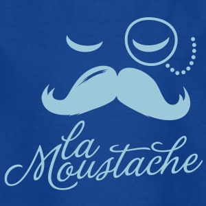 La Moustache Typography Kinder shirts - Teenager T-shirt