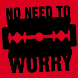 No need to worry solo T-shirts - T-shirt herr