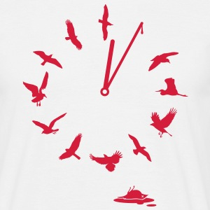 Doomsday Bird Clock T-shirt - Maglietta da uomo