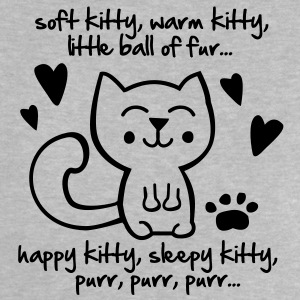 soft kitty, warm kitty, little ball of fur... Skjorter - Baby-T-skjorte