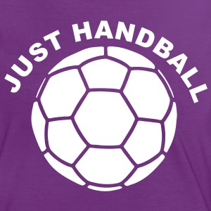 Just Handball T-Shirts - Frauen Kontrast-T-Shirt