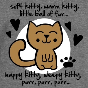 soft kitty, warm kitty, little ball of fur... Sweaters - Vrouwen trui met U-hals van Bella