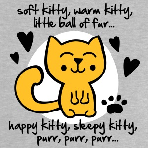 soft kitty, warm kitty, little ball of fur... Baby T-Shirts - Baby T-Shirt