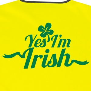Yes, I'm IRISH with a shamrock for ST PATRICK's day Jackets & Vests - Reflective Vest