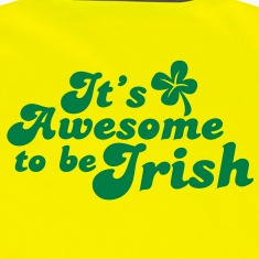 It's awesome to be IRISH! St Patrick's day design Jackets & Vests