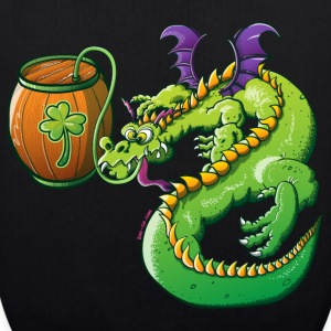 Drunk St Patrick's Day Dragon Bags  - EarthPositive Tote Bag
