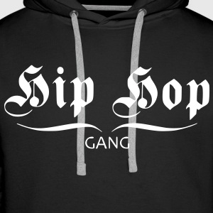 hip hop gang Hoodies & Sweatshirts - Men's Premium Hoodie