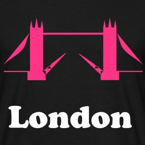 tower bridge outline T-Shirts - Men's T-Shirt