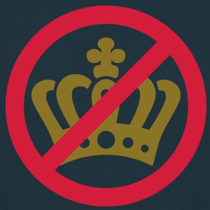 No Crown | Keine Krone | 2c T-Shirts - Mannen T-shirt