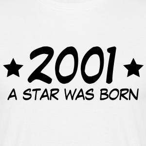 2001 a star was born (fr) Tee shirts - T-shirt Homme