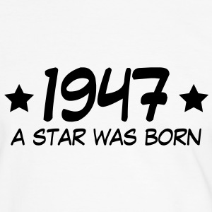 1947 a star was born (dk) T-shirts - Herre kontrast-T-shirt