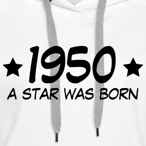 1950 a star was born (nl) Sweaters - Vrouwen Premium hoodie