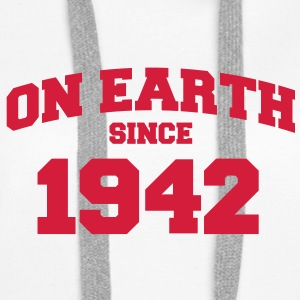 (de) on earth since 1942 (uk) Hoodies & Sweatshirts - Women's Premium Hoodie
