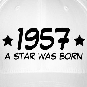 1957 a star was born (uk) Caps & Hats - Flexfit Baseball Cap