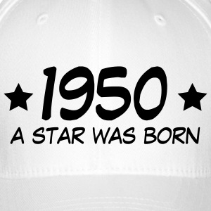 1950 a star was born (uk) Caps & Hats - Flexfit Baseball Cap