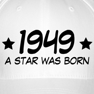 1949 a star was born (uk) Caps & Hats - Flexfit Baseball Cap