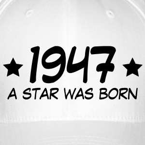 1947 a star was born (uk) Caps & Hats - Flexfit Baseball Cap