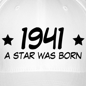 1941 a star was born (uk) Caps & Hats - Flexfit Baseball Cap