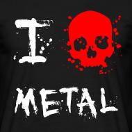 Design ~ I Love Metal T-Shirt