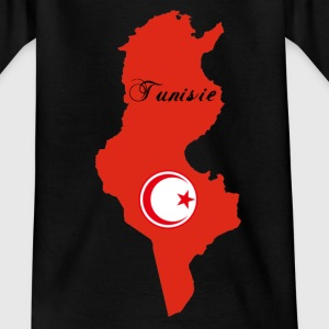 Tee shirt Tunisie enfant - T-shirt Ado