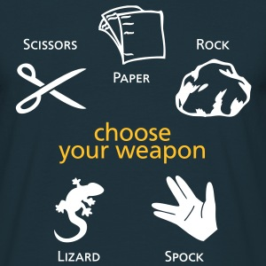 Choose your weapon T-Shirts - Männer T-Shirt