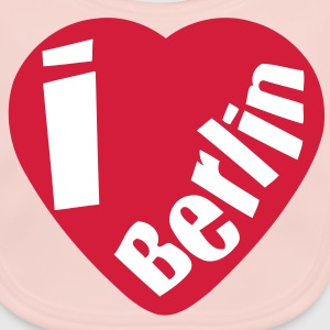 I love berlin (2c) Accessories - Baby Organic Bib