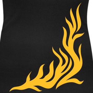 Flame/ T-shirt, fire,vector, can be combined with flame / pants Tee shirts - T-shirt col rond U Femme