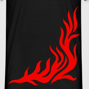 Flame/ T-shirt, fire,vector, can be combined with flame / pants T-shirts - Mannen T-shirt