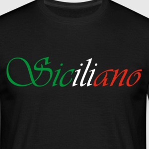 Siciliano tee shirt homme.  - T-shirt Homme